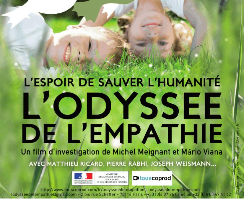 Ciné-débat l'Odysée de l'Empathie le 15/05 à 19h
