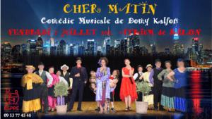 comédie musicale Espré 7 juillet